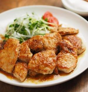 鶏むね肉のレモンステーキ