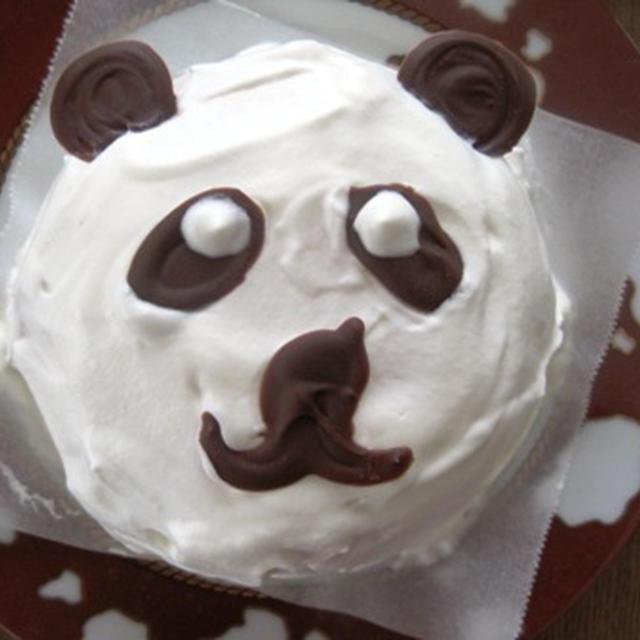 子供が喜ぶ☆パンダさんのケーキ