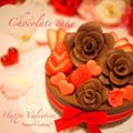 本命バレンタイン♡サクサク&しっとり生チョコケーキ♡