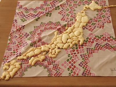ケンミンクッキー☆全国作りました!