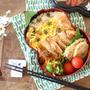夏に爽やか♪ミョウガ寿司飯と照り焼きチキン弁当