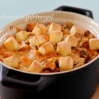 きのことキムチの焼きチーズドリア