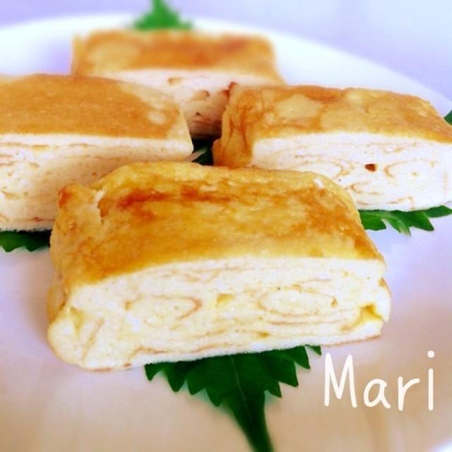 ほわんほわん♡幸せお豆腐の☆卵焼き