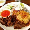 山羊肉のカオモック ✿タイ南部のターメリックピラフ★Goat meat biryani s... by いくみさん
