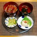 疲れた時のご褒美晩御飯☆鰻丼♪☆♪☆♪