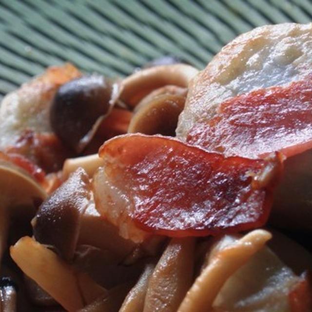 里芋のベーコン炒め:NHK「あさイチごはん」より