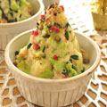 パーティーに☆かな姐さんのクリスマスツリー風サラダ