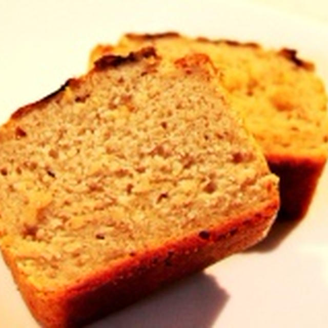 【レシピ】卵・牛乳・小麦不使用米粉でバナナケーキ