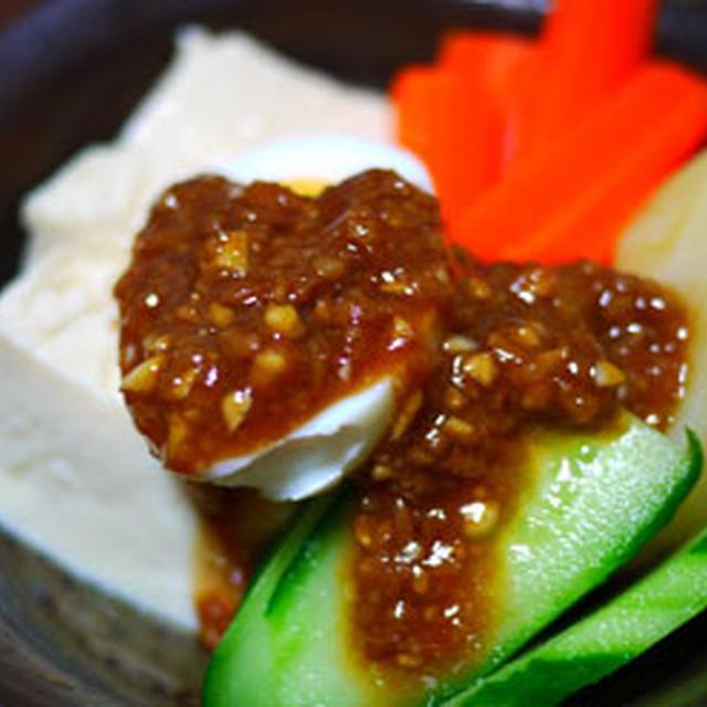 しょうゆ麹の温野菜ソース