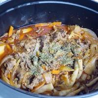 牛肉と野菜のトマト煮