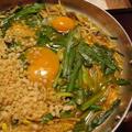 キムチカレー鍋焼きうどん
