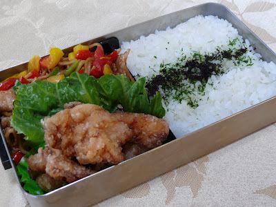 中学生、和彰のお弁当 -036-