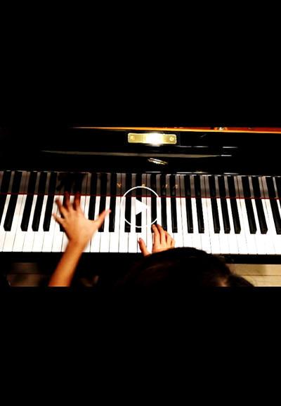 ピアノ練習!ギロック 手品師