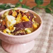 薩摩芋とアボカドのサラダ