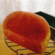 ごまごまミニ食パン♪チャプチェサンド・カボチャサラダサンド♪