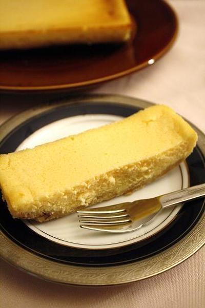 ルクエで簡単! ベイクドチーズケーキwithカスピ海ヨーグルト