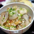里芋と舞茸の炊き込みご飯 &合うおかず