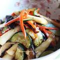 トックと干し野菜の炒めあえナムル