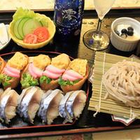 スパークリング清酒「澪」deしめ鯖の握り寿司