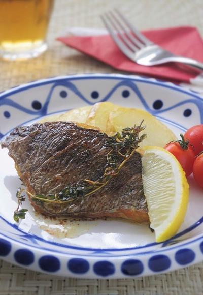 白身魚(イサキ)のグリル