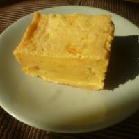 濃厚♪さつま芋とゆずのケーキ