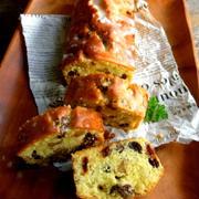 レーズンとくるみのパウンドケーキ*ヒルナンデスのレンジ料理の話