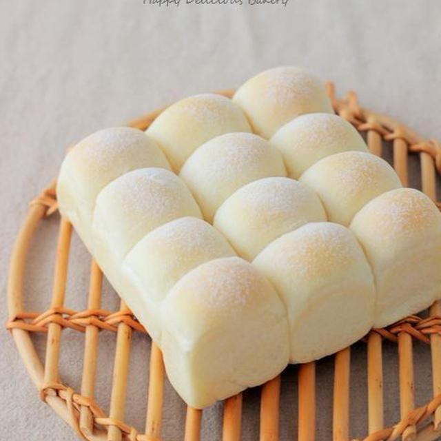 白パンでちぎりパン♪