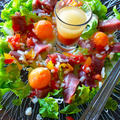 まぐろと冷凍卵のカルパッチョ仕立てサラダ by 青山 金魚さん