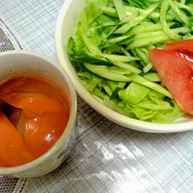 ケチャマヨソースde生野菜サラダ