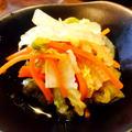 白菜と人参のおかか煮