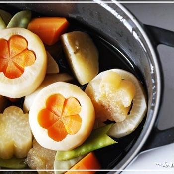蕪の煮物と一の傳