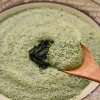 宮崎県産冷凍ほうれん草で作る「ほうれん草のミルクスープ」