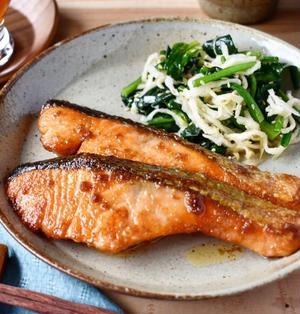 コク旨♪【鮭のマヨしょうゆ照り焼き】#魚料理 #簡単レシピ