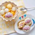 お月見にいかが?子供と作る豆腐白玉団子レシピ・アンパンマンデコ白玉の作り方