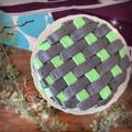 お菓子レシピ*デコレーションバリエ、鬼滅の刃バスケット絞りケーキ