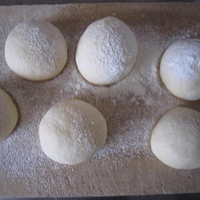 親子でパン作り。*レシピ。
