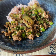 ひき肉カレー炒め