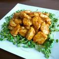 【簡単レシピ】鶏むね肉のオーロラソース♪