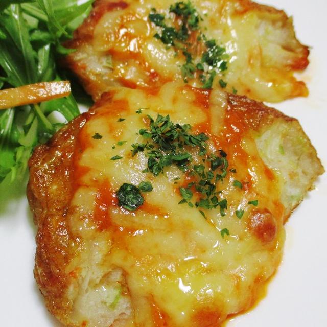 野菜てんぷらのオーロラチーズ焼き