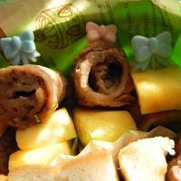 お弁当にぴったり★簡単しそ梅チーズロール