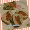 鶏肉の彩り野菜巻きヨーグルトカレー味