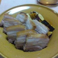 ゴロゴロ秋野菜と豚バラの絶品フルブラ・ハニーローストポーク!