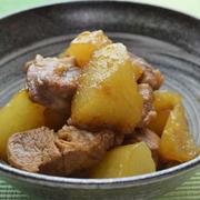 豚肉と大根のべっこう煮