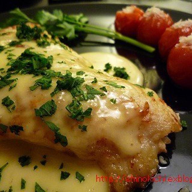 白身魚のソテー・レモンクリームソース