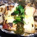 <時短・簡単ホイル焼き♪鮭のマヨネーズ焼き(^◇^)>