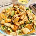 【サラダなのに!?】サーモンと揚げ茄子のハーブサラダは、これだけでメイン級のボリューム