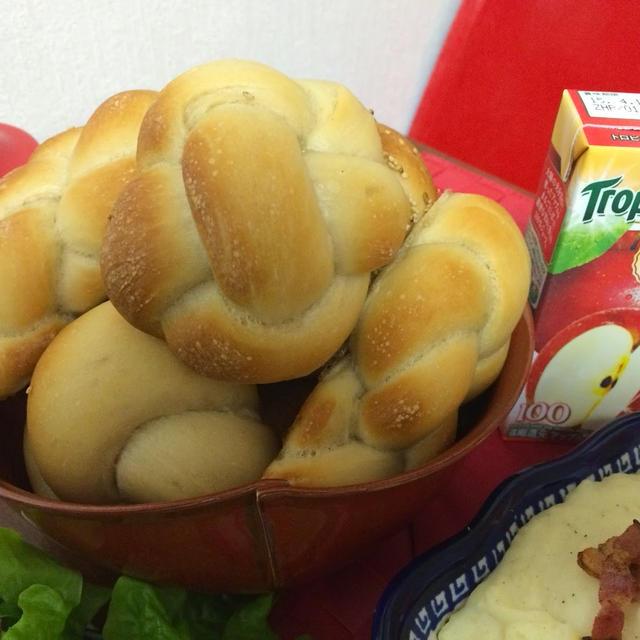アップルジュースでパーティパン