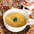 熱い場合は真央ちゃんみたいに三回転半回してフーフーしてね^^中華風コーンスープ by ウエルキッチンさん