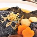 【レシピ】一緒に煮て時短★主菜+副菜★おふくろの味★煮魚4【子持ち黒ガレイの煮魚】