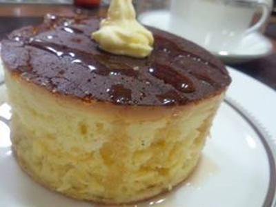ホットケーキミックスで作る、スフレパンケーキ風、ふわふわホットケーキ(レシピ付)